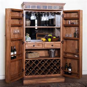 rustic oak bar armoire oak bar armoire bar armoire