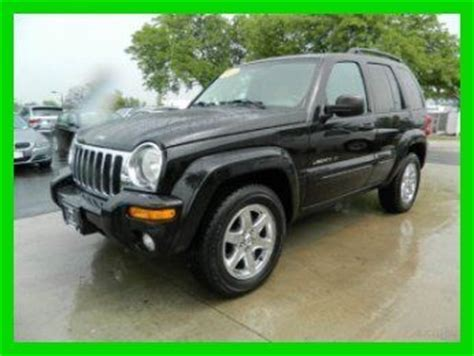 2003 jeep liberty limited edition 4x4 sell used 2003 jeep liberty limited edition black 3 7l
