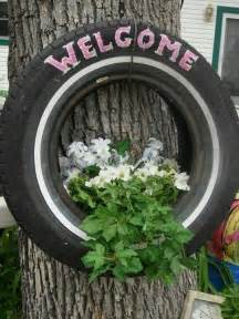 tire planter things i want to do