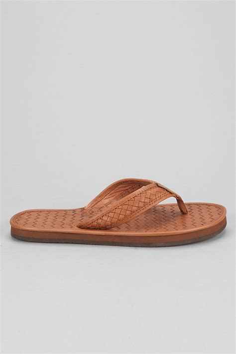 rainbow sandals for lyst rainbow sandals strands classic sandal in brown for