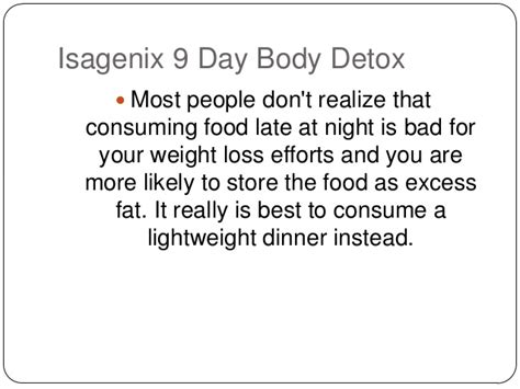 Is Detoxing Bad For Your by Isagenix 9 Day Detox