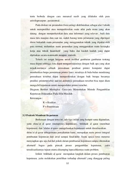 Manajemen Pengambilan Keputusan makalah pengambilan keputusan dalam manajemen