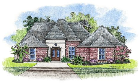 french country plans french country louisiana house plans small country house