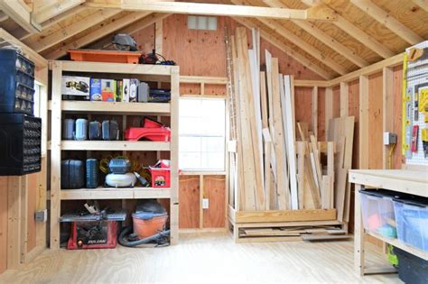 interior ideas shed organizing 4 shed storage ideas for tons of added function