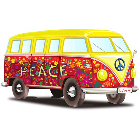 volkswagen bus clipart clipartist net 187 clip art 187 peace and love vw bus scalable