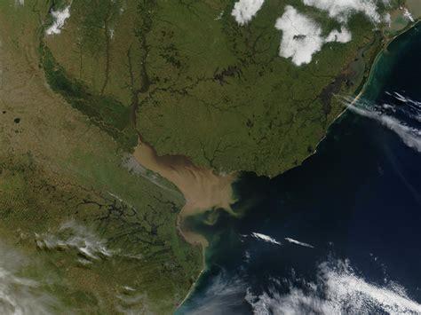 imagenes satelitales modis nasa visible earth rio de la plata argentina