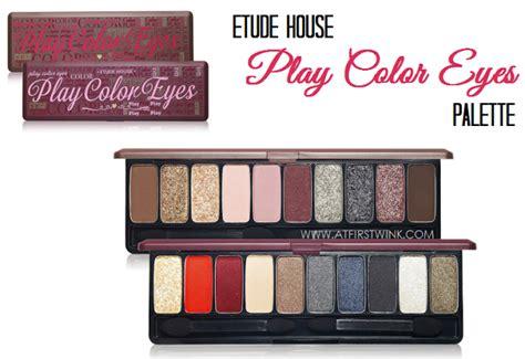 Eyeshadow Etude House etude house play color eyeshadow palettes