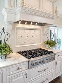 Traditional Kitchen Backsplash Traditional White Kitchen With Gas Cooktop Hgtv