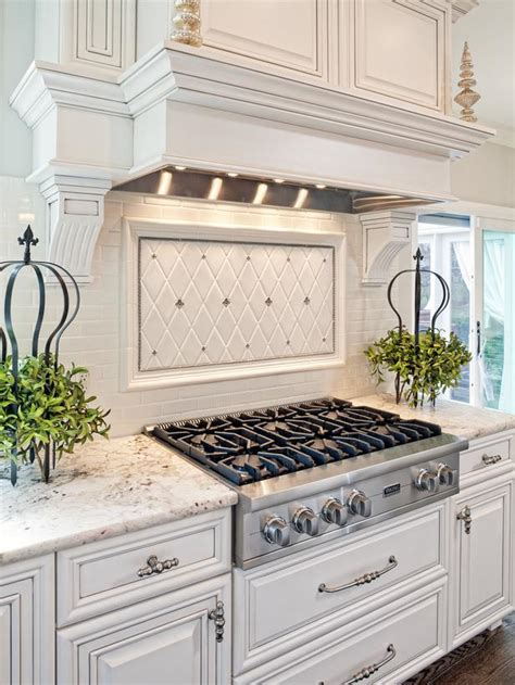 home designer pro backsplash traditional white kitchen with gas cooktop hgtv