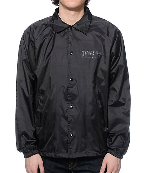 Collab Coaches Jacket by Thrasher Skate And Destroy Coach Jacket