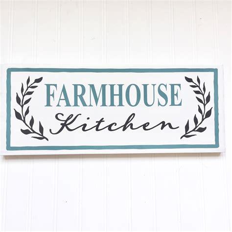 Custom Kitchen Signs by Kitchen Decor Farmhouse Kitchen Sign Custom Kitchen Sign