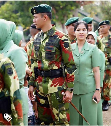 Seragam Militer ragam motif seragam militer tni ad yang dikenakan agus