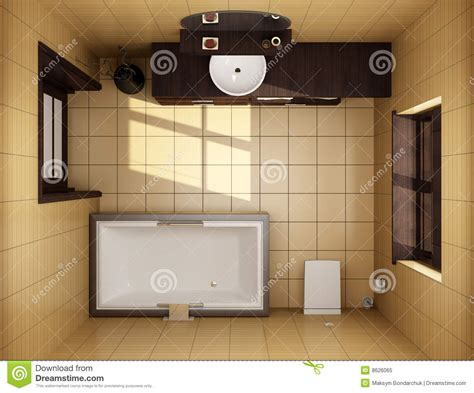 8 By 10 Bathroom Floor Plans japanese style bathroom top view royalty free stock photo