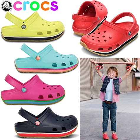 Crocs Hover Sneaker Junior Original lead walking pavilion rakuten global market crocs retro clog crocs retro clog