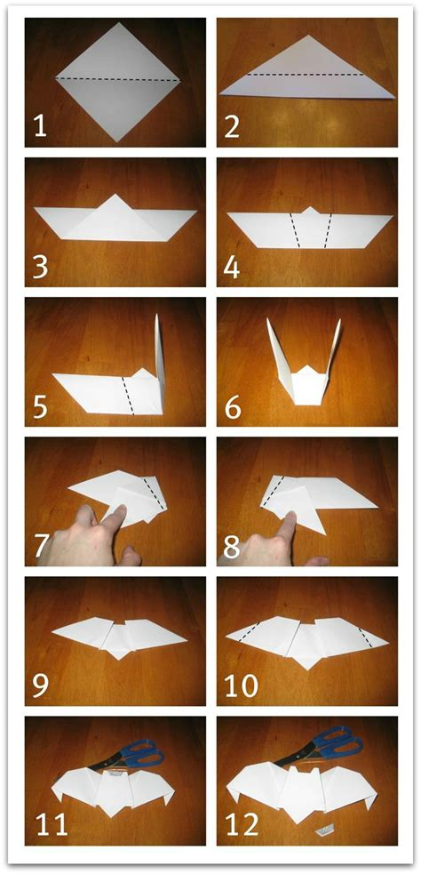 How To Make Bats Out Of Paper - relentlessly deceptively educational march 2012
