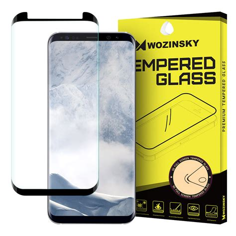 Samsung S8 Tempered Glass 3d Color Screen Protector wozinsky tempered glass 3d screen protector coveraged with frame for samsung galaxy s8 plus