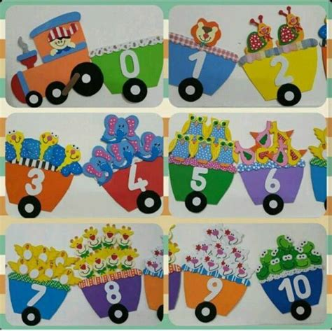 number crafts for number craft 171 preschool and homeschool