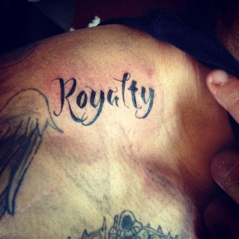 royalty tattoos royalty script by ranz tattoos
