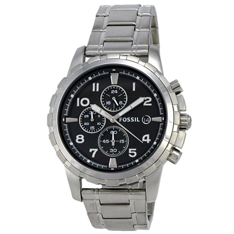 Fossil Original Fs4872 fossil dean fs4542 chronograph stainless steel black