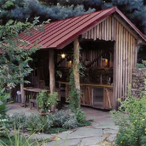 Great Sheds by Great Building Outdoor Kitchen Rustic