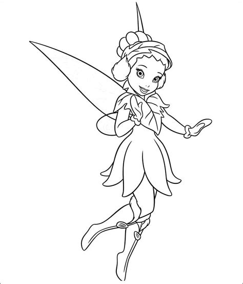 30 Tinkerbell Coloring Pages Free Coloring Pages Free Premium Templates Picture Of Tinkerbell To Color