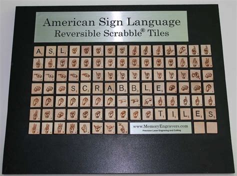 scrabble in different languages american sign language asl scrabble 174 tiles want these