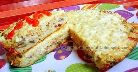 cara membuat omelet isi nasi resep omelet nasi keju jamur kancing aneka resep masakan