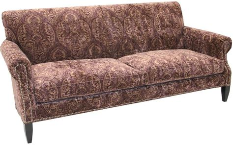 paisley couches old hickory tannery paisley merlot sofa paisley print in