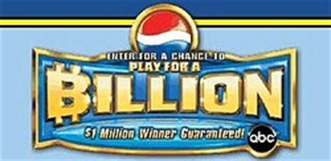 Billion Dollar Giveaway - pepsi billion dollar sweepstakes wikipedia