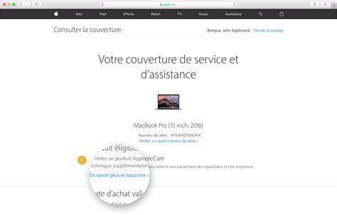 Check Apple Care For Mba by Comment Acheter Un Contrat Applecare Pour Votre Appareil