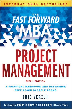 Mba Project Management Description by Wiley The Fast Forward Mba In Project Management 5th