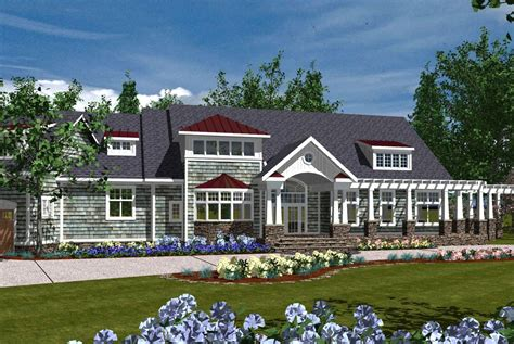 luxurious home plans luxurious shingle home plan 30014rt architectural
