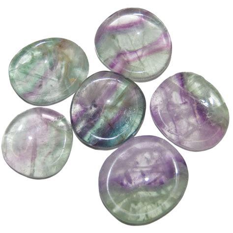 fluorite thumb stones wholesale worry stones natures