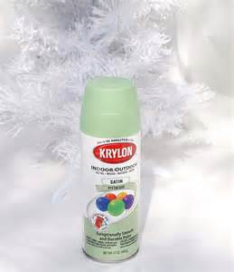 Spray Painting How To - how to spray paint a christmas tree
