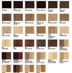 hair extensions colors hair extensions color chart ponytail extension
