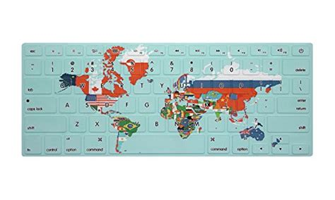 Pelindung Keyboard Protector Country Flag Macbook Pro Retina 15 4 Inch hrh flags of countries in the world map keyboard cover tpu skin for macbook air 13 and macbook
