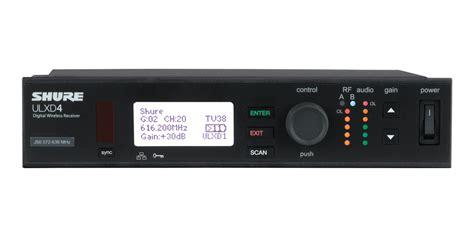 Mic Wireless Shure Ulxd4 Professional Pro Freguency Murah shure ulxd4 digital wireless receiver 171 香港 hong kong pro audio 音響工程