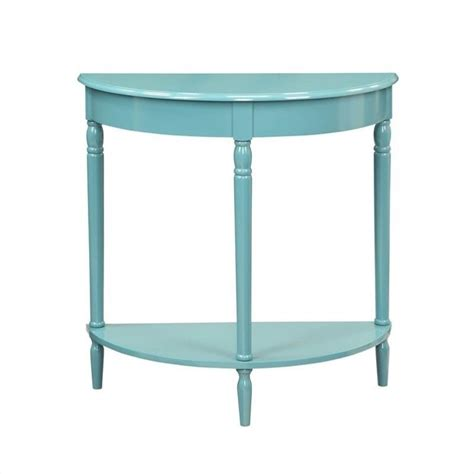 entryway table blue 6053182be