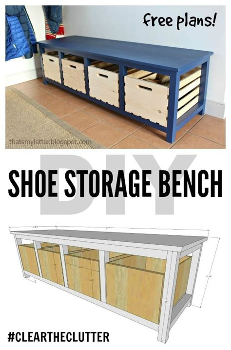 diy shoe shelf plans diy shoe storage bench free plans scrapworklove