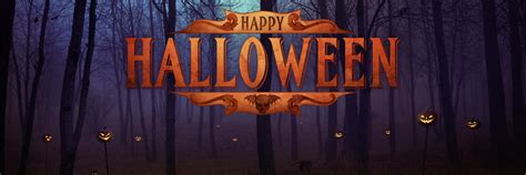 scary halloween twitter header banner images covers
