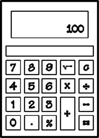 Printable Calculator