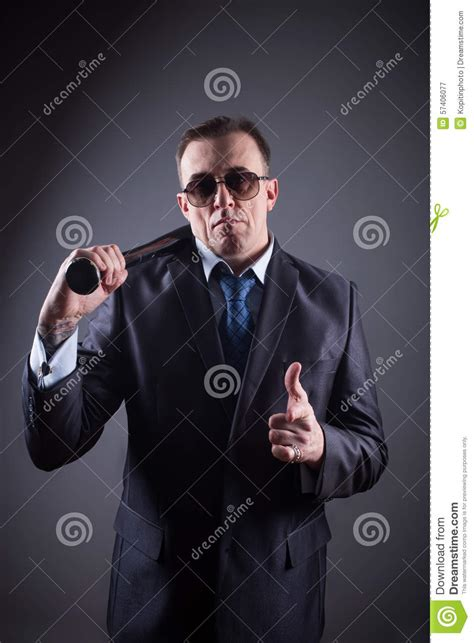 gangster film baseball bat male gangster with baseball bat stock photo image 57406077
