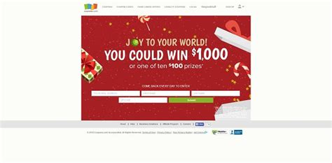 Holiday Shopping Sweepstakes - coupons com holiday shopping sweepstakes win 1 000 in cash