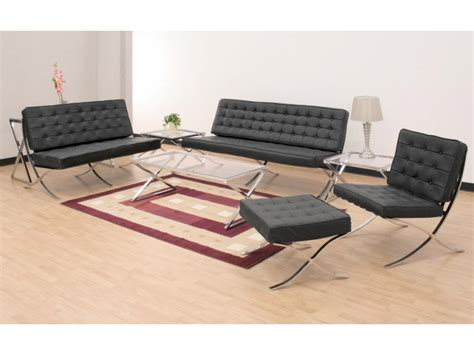 sofa and two chairs layout barcelona sofa 2 seater black