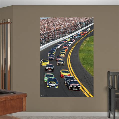 nascar wall murals daytona international speedway pack mural wall decal