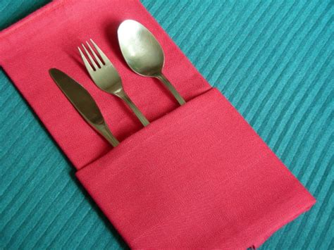 Simple Paper Napkin Folding - serviette napkin folding the simple pocket recipe