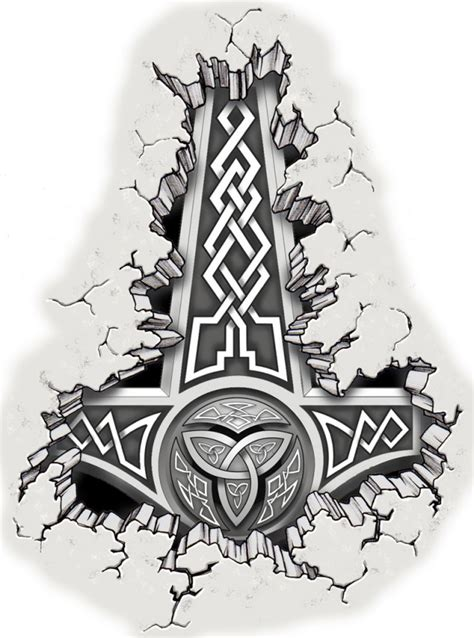 thor hammer tattoo designs thor s hammer by mmbretweir on deviantart