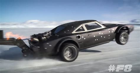 fast and furious 8 car images the latest fast furious 8 footage from iceland muscle car