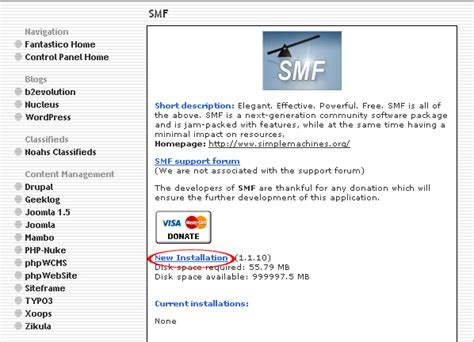 powered by smf free discussion board how to install smf discussion board through cpanel