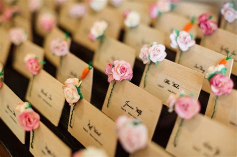 inspiration and ideas escort place cards united with love